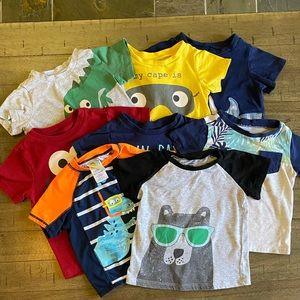 18mo Tee shirt bundle